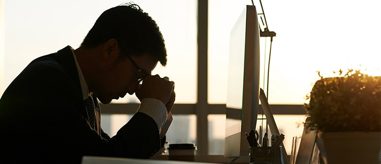 Is stress getting you down at work?