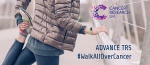 #walkallovercancer